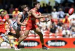 AFL 2014 Practice Match - Gold Coast v Collingwood