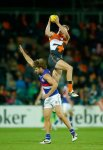 AFL 2014 Rd 04 - GWS Giants v Western Bulldogs