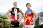 AFL 2014 Media - St Kilda and Brisbane Lions Media Session 240414