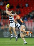 AFL 2014 Rd 18 - GWS Giants v Geelong