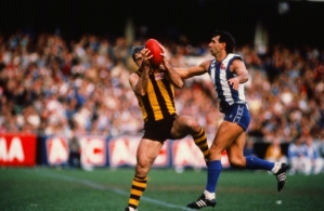 VFL 1980's - North Melbourne v Hawthorn
