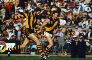 VFL 1980's - Hawthorn v Richmond