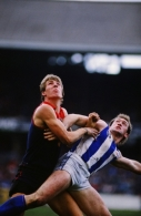 VFL 1980's - Melbourne v North Melbourne