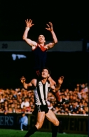 VFL 1980's - Melbourne v Collingwood