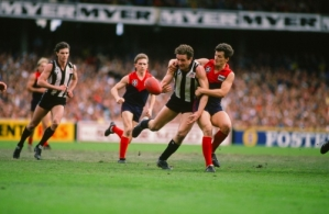 VFL 1988 - Collingwood v Melbourne