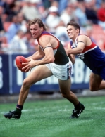 AFL 1997 Rd 1 - Western Bulldogs v Fremantle