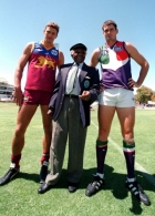 AFL 1998 Ansett Cup Match - Brisbane v Fremantle
