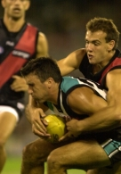 AFL 2001 Ansett Cup Match - Port Adelaide v Essendon