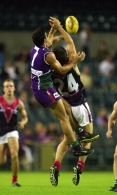 AFL 2001 Ansett Cup Match - Fremantle v Melbourne