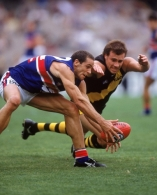 AFL 2001 Rd 2 - Richmond v Western Bulldogs