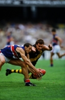 AFL 2001 Round 2 - Richmond v Western Bulldogs