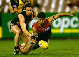 AFL 2001 Rd 16 - Richmond v Melbourne