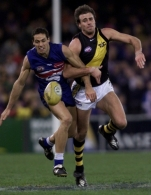 AFL 2001 Rd 17 - Western Bulldogs v Richmond
