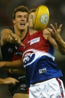 AFL 2002 Wizard Cup Match - Essendon v Western Bulldogs
