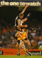 AFL 2002 Wizard Cup Match - Hawthorn v Collingwood
