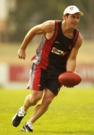 AFL 2003 Media - Melbourne Training 130103
