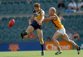 AFL 2003 Practice Match - West Coast v Hawthorn