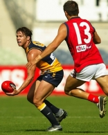 AFL 2003 Practice Match - Melbourne v West Coast