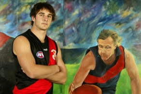 AFL 2003 Media - Jobe Watson Photo Session 070503
