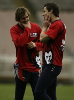 AFL 2003 Media - Melbourne Training 120603