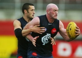 AFL 2003 Media - Carlton Training 100703