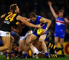 AFL 2003 Rd 17 - Western Bulldogs v Richmond