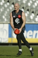AFL 2003 Media - Carlton Training 310703