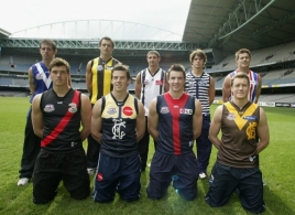 AFL 2003 Media - Heritage Round Launch 050803