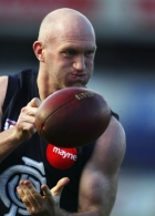 AFL 2003 Media - Carlton Training 140803
