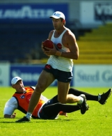 AFL 2003 Media - Carlton Training 240303