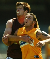 AFL 2003 Media – Hawthorn Intra-Club Match 140203