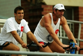 AFL 2003 Media - Carlton Training 210303