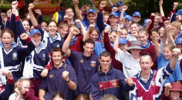 AFL 2003 Media - Brisbane Community Camp
