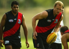 AFL 2004 Media - Essendon Training 250204