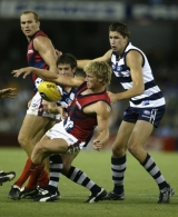AFL 2004 Wizard Cup Semi Final - Geelong v Melbourne
