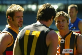 AFL 2004 Media - Captains Photo Shoot 180304