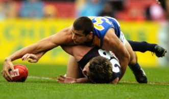 AFL 2004 Rd 5 - Carlton v West Coast Eagles
