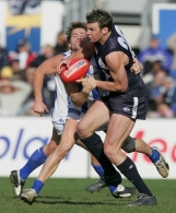 AFL 2004 Rd 16 - Carlton Blues v Kangaroos