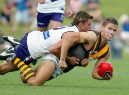 AFL 2005 Trial Match - Fremantle v Hawthorn
