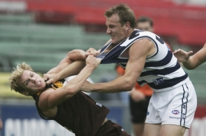 AFL 2005 Trial Match - Geelong v Hawthorn