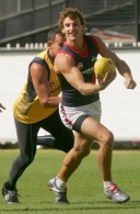 AFL 2005 Media - Melbourne Training 050405