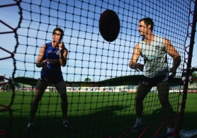 AFL 2005 Media - Carlton Training 120405
