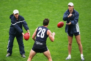 AFL 2005 Media - Carlton Training 1404055