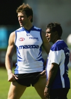 AFL 2005 Media - Kangaroos Training 200405