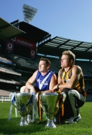 AFL 2005 Media - Hawthorn and Kangaroos Press Conference 210405