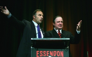 AFL 2005 Media - Essendon Host Dick Reynolds Anzac Lunch 220405