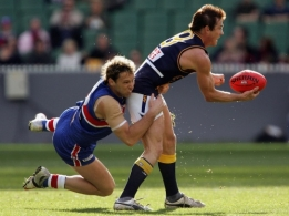 AFL 2005 Rd 19 - Western Bulldogs v West Coast Eagles