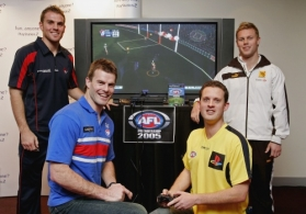 AFL 2005 Media - AFL Premiership Sony Playstation Launch 170805