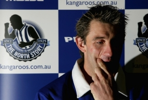 AFL 2005 Media - Corey McKernan Retirement Press Conference 260805