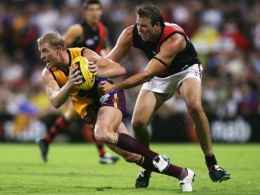 AFL 2006 NAB Cup Rd 1 - Brisbane Lions v Essendon